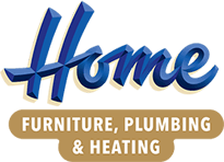 Home Furniture, Plumbing & Heating Logo
